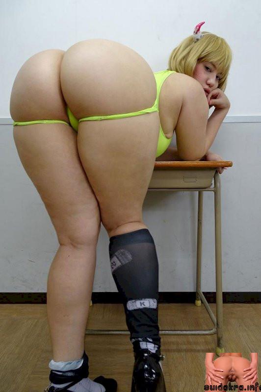 plump japanese booty asian plump ass