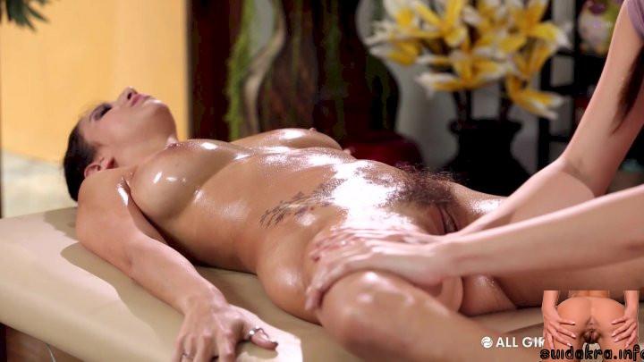 coconut masseuse massage adult oil